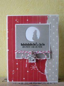 carte noel faite à la maison31 vie www.cartefaitmain.eu #carte #diy