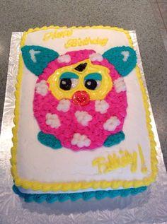 Furby Boom Birthday Cake