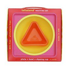 Lollaland Mealtime 3 pc. Set- Pink