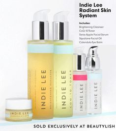 5 Products can create magic - try our Radiant Skin System exclusively on @Beautylish!