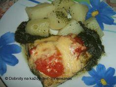 Rybí filé se špenátem