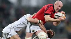 Paul O'Connell has been named in the Munster starting fifteen to take on Connacht in Saturday's RaboDirect clash. Munster Rugby, Big Men, Sports, Hs Sports, Tall Men, Sport