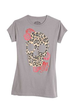 dELiAs > Wild Skull Tee > tops > graphic tees > view all graphic tees