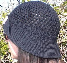 Breezy Mesh Hat free crochet pattern