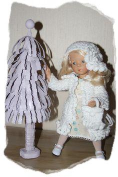 Minouche de Sylvia Natterer en tenue de noel