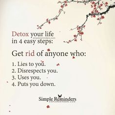 Detox Your Life in 4 Easy Steps.
