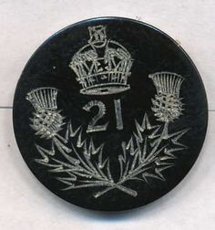 21st of Foot- Royal Scots Fusilers  Maker unknown