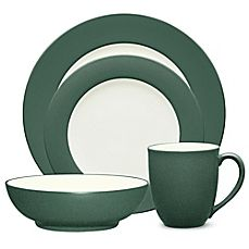 image of Noritake® Colorwave Rim Dinnerware Collection in Spruce