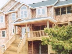 Nags Head house rental - Front of house. Faces quiet culdesac.