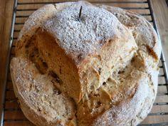 Pan de Romero y miel (Tradicional y Thermomix)