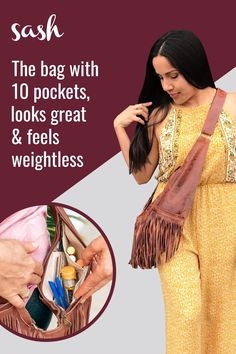The Perfect Everyday Bag! - The cross body bag you'll never take off. Sash bags give you all the freedom of a fanny pack without compromising on style. Stop digging and start living. streamline your style with a Sash! Frozen Dog Treats, Unique Handbags, Prada Handbags, Everyday Bag, Couture, Cute Tattoos, Handmade Bags, Sewing Hacks, Leather Purses