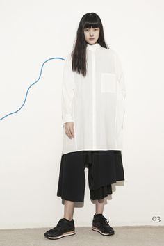 Y's by Yohji Yamamoto Ready To Wear Pre Fall 2015
