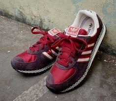 huge selection of 15107 50d79 adidas Originals City Marathon PT – Burgundy  Red – White