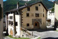 Traditional Engadine houses