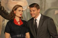 BuddyTV Slideshow | 'Bones' 200th Episode Photos: The Gang Goes to the 1950s