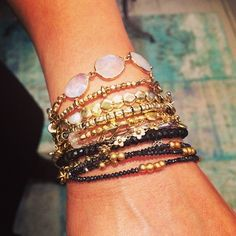 How do you wear your Pippa jewels? #layering