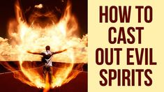 How to Cast Out Evil Spirits (Casting Demons Out - Powerful) Evil Quotes, Jesus Quotes, Bible Quotes, Bible Verses, Deliverance Prayers, Powerful Prayers, I Want Quotes, Love Spell Chant, Easy Spells