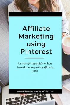 Blogger, entrepreneur or small business owner - you should be using affiliate links on Pinterest. It's a great way to make money - a passive income! Click through for the step by step tutorial with screenshots on how to embed and add your affiliate links to pinterest.