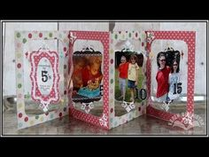 Karen Burniston - How to add Clear Pages to Pop it Ups Accordion Albums - YouTube time 16:59; June 18, 2014