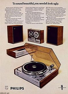 Philips, I had the pickup... the bandrecorder and speakers I bought from my first salary - seventies