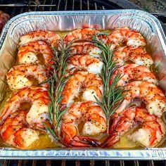 butter shrimp will rock your world! - Delicious meal - Smoked butter shrimp will rock your world! -Smoked butter shrimp will rock your world! - Delicious meal - Smoked butter shrimp will rock your world! - The best shrimp tacos! Shrimp Dishes, Fish Dishes, Seafood Recipes, Cooking Recipes, Healthy Recipes, Seafood Appetizers, Recipes Dinner, Top Recipes, Cajun Shrimp Recipes