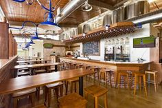 The 10 Best Restaurants in Iowa: Local Eats & Fine Dining--this is Backpocket Brewing Interior | Courtesy of Backpocket Brewing