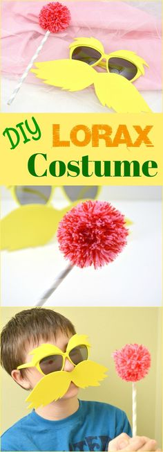 Diy dr seuss lorax costume super easy i used 2 different shades how to make your own diy lorax costume tutorial solutioingenieria Image collections
