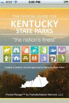 The Official Guide for Kentucky State Parks
