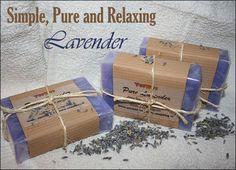 DIY Melt & Pour - Simple, Pure & Relaxing Lavender (Wow! Check out that color! - Deb)