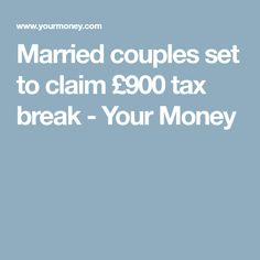 Eligible married partners can receive a tax break this year, but as claims can be backdated this means couples could receive a total of via the Marriage Allowance. Married Couples, Money, Check, Silver