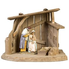 Cabaña de madera para pesebre 28x38x28cm Wooden Christmas Crafts, Christmas Clay, Christmas Decorations, Nativity Stable, Diy Nativity, Christmas Grotto Ideas, Clay Crafts, Diy And Crafts, Architectural Sculpture