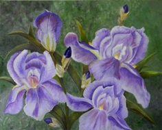 coupon for ALL artwork on Irises Original Acrylic Painting On Canvas Iris Painting, Acrylic Painting Canvas, Canvas Art, Canvas Prints, Canvas Ideas, Canvas Paintings, Purple Iris Flowers, Original Artwork, Original Paintings