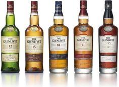 My favorite single malts...The Glenlivet family