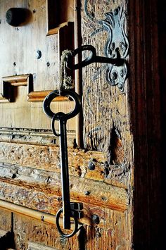 Door to the wine cellar
