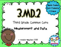 Create abilities from Measuring Volumes and Masses on TeachersNotebook.com - (21 pages) - This math set is tied directly to the third grade common core MD.2: Measure and estimate liquid volumes and masses of objects using standard units of grams, kilograms and liters. Included in this download are: -Five math tasks that help students develo