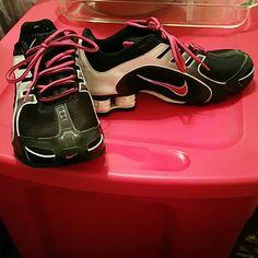 Nike Shox Agent Womens Wolf Grey Pink Black