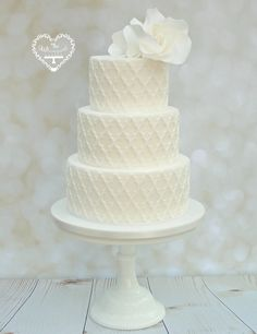 Wedding Cakes - The Whimsical Cakery - Elegant bespoke wedding cakes and dessert tables. Wedding Cakes Northamptonshire.