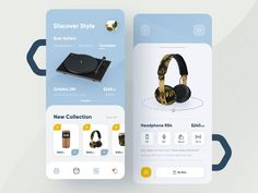 Ortofon 🎧 designed by Oliko Koma. Connect with them on Dribbble; the global community for designers and creative professionals. Web Design, App Ui Design, Flyer Design, Design Ideas, Ui Kit, Ios, Flower Shop Design, Android App Design, Super Hero Outfits