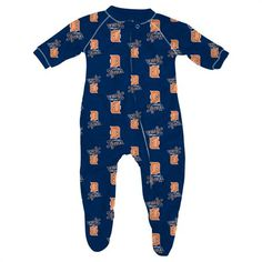 Detroit Tigers Baby Pajamas