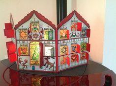 Calendario dell'avvento con candela  http://gaiamarfurt.blogspot.it/2012/11/advent-calendar-2012pronto.html