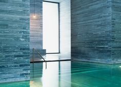 Fun Reasons To Own Luxury Swimming Pools – Pool Landscape Ideas Luxury Swimming Pools, Luxury Pools, Swimming Pool Designs, Therme Vals, Zen Interiors, Pool Water Features, Spa Interior, Minimalist Room, Spa Design