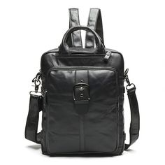 Real leather Korean backpack 1st layer cowhide retro bag big capacity  student leisure backpack 29285463bf5d