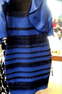 people across social media have been arguing about whether a picture depicts a perfectly nice bodycon dress as blue with black lace fringe or white with gold lace fringe. And neither side will budge. This fight is about more than just social media—it's about primal biology and the way human eyes and brains have evolved to see color in a sunlit world.