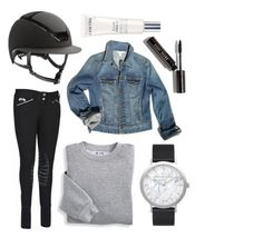 """KASK HELMET LOOK"" by eqlmag on Polyvore featuring Kask, Boston Proper, Blair, Elwood, Lancôme, Bobbi Brown Cosmetics, watch, equestrian, Horse and Breeches"