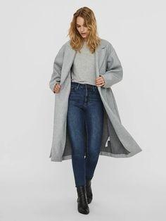 Fortune long wrap coat | GREY Long Jackets, Jackets For Women, Wrap Coat, Models, Winter Accessories, Outerwear Women, Best Sellers, Duster Coat, Normcore