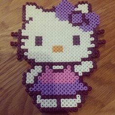 Hello Kitty hama beads by s_renate