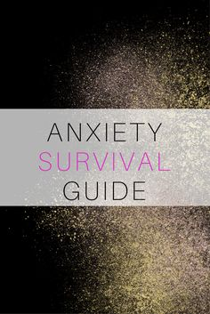 make your anxiety suck less