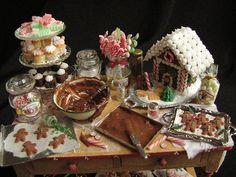 Christmas Table miniatures