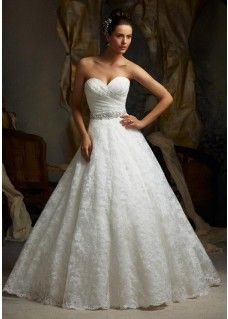 designer Mori Lee wedding gowns wedding dress Blu 5115 ALENCON LACE