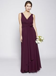 bridesmaid-dress-burgundy